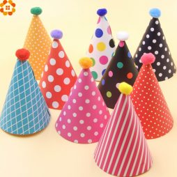 Party Hat / Badges / Sash