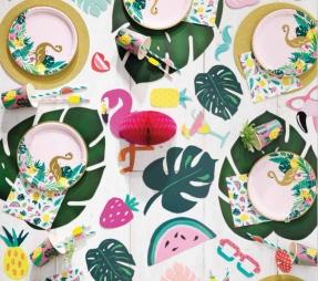 Tropical & Flamingo