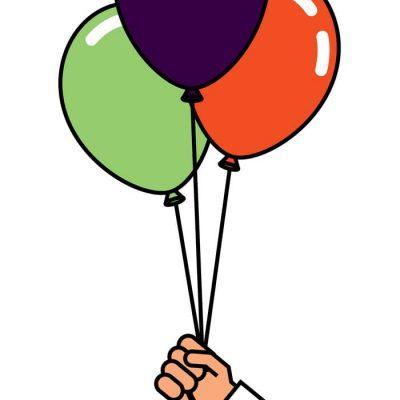 Helium Balloon Arrangement